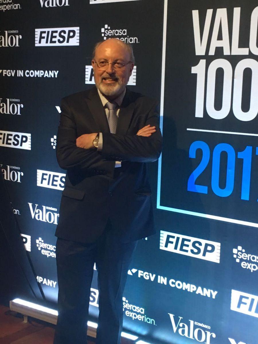 Eduardo Job, Presidente Executivo do Laboratório Cristália no evento de premiação realizado nesta semana